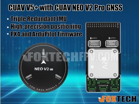 CUAV V5+ Flight Controller with NEO V2 Pro GNSS