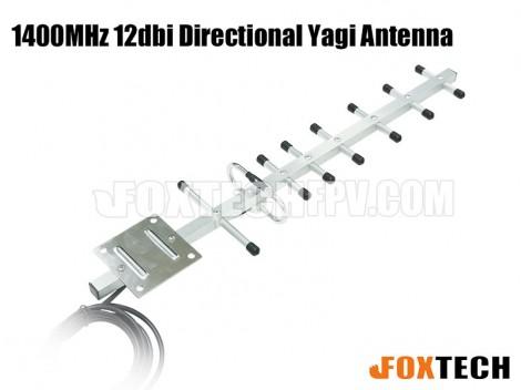 1400MHz 12dbi  Directional Yagi Antenna