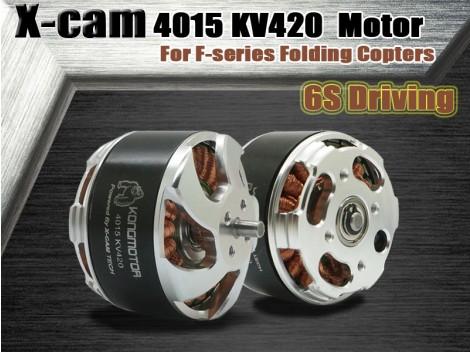 X-cam KongCopter 4015 KV420 Brushless Motor