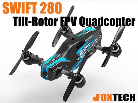 SWIFT 280 Tilt-Rotor FPV Quadcopter PNP
