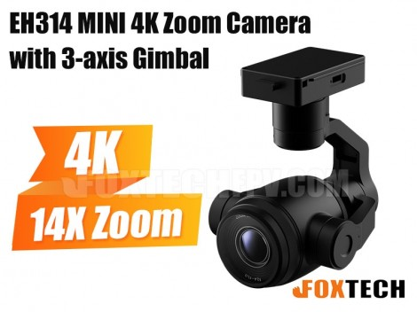 EH314 MINI 4K Zoom Camera with 3-axis Gimbal
