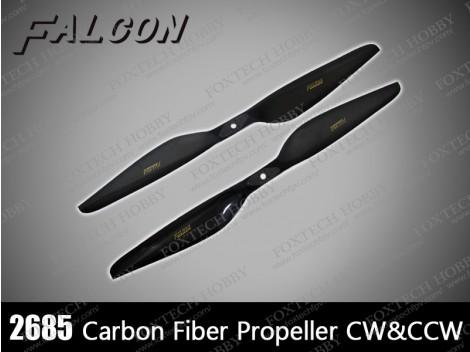 Falcon 2685 Carbon Fiber Propeller CW&CCW
