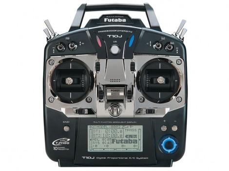 Futaba 10J 10-Channel 2.4GHz Computer Radio System