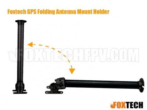 Foxtech GPS Folding Antenna Mount Holder