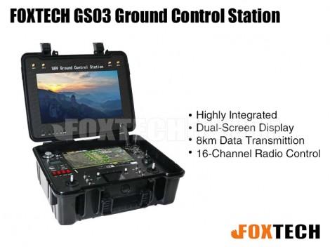 FOXTECH GS03 Ground Control Station(Build-in DA16S+)