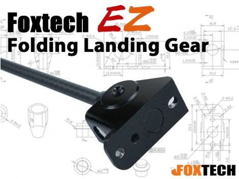 Foxtech Hover 1 Upgraded EZ Folding Landing Gear Kit