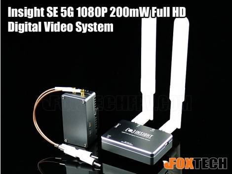 Insight SE 5G 1080P 200mW Full HD Digital Video System-Free Shipping