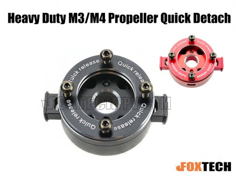 Heavy Duty M3 Propeller Quick Detach