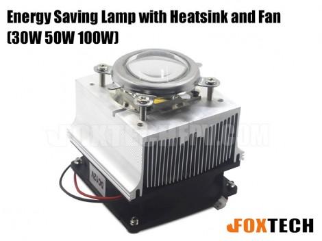 30W/50W/100W Energy Saving LED with Heatsink and Fan
