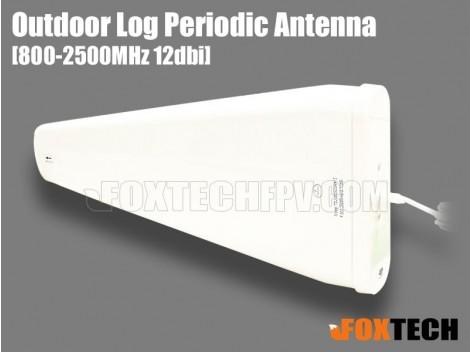 900M/2.4G Dual Band 12dbi Outdoor Log Periodic Antenna-RPSMA