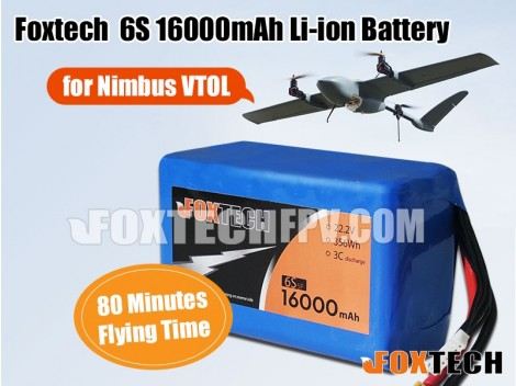 Foxtech  6S 16000mAh Li-ion Battery