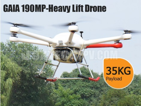 GAIA 190MP-Heavy Lift Drone
