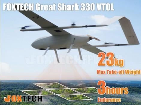 FOXTECH Great Shark 330 VTOL Pixhawk RTF