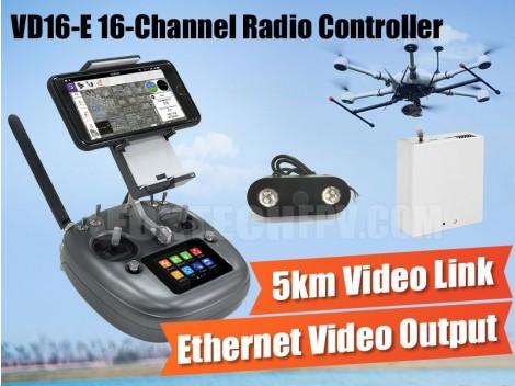 VD16-E 16-Channel Radio Controller