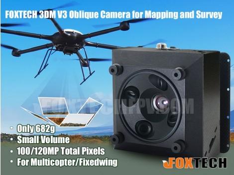 FOXTECH 3DM V3 Oblique Camera for Mapping and Survey