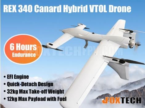 Foxtech REX 340 Canard Hybrid VTOL Drone