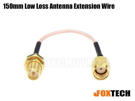 150mm Low Loss Antenna Extension Wire