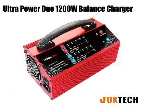 Ultra Power Duo 1200W Balance Charger 220V-A