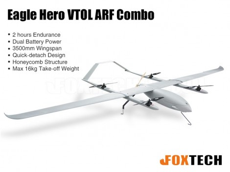 Eagle Hero VTOL ARF Combo