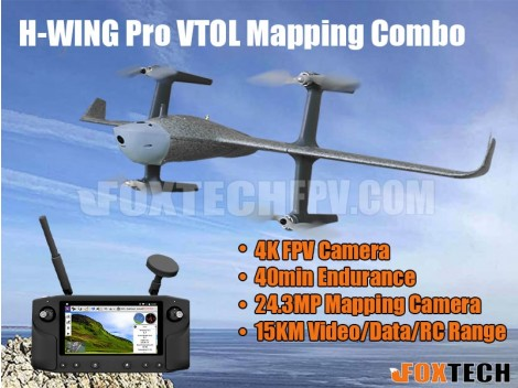H-WING Pro VTOL Mapping Combo