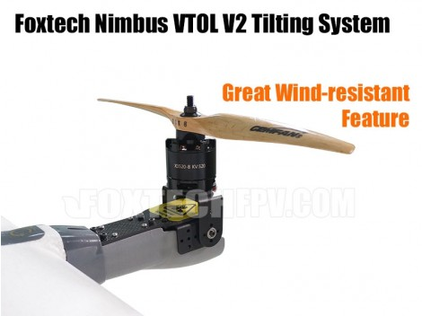 Foxtech Nimbus VTOL V2-Tilting System