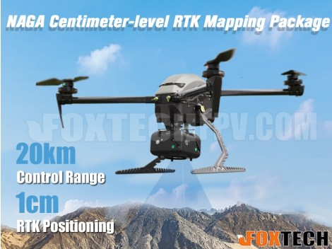 Foxtech NAGA Quadcopter Mapping Package