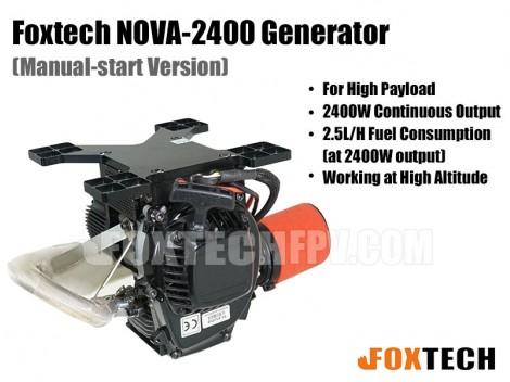 Foxtech NOVA-2400 Generator(Manual-start Version)