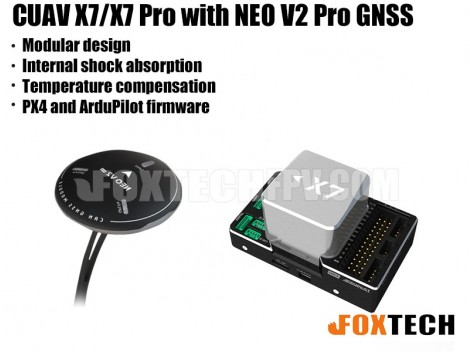 CUAV X7&X7 Pro Flight Controller with NEO V2 Pro GNSS