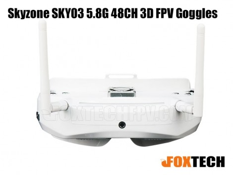 Skyzone SKY03 5.8G 48CH 3D FPV Goggles-Free Shipping