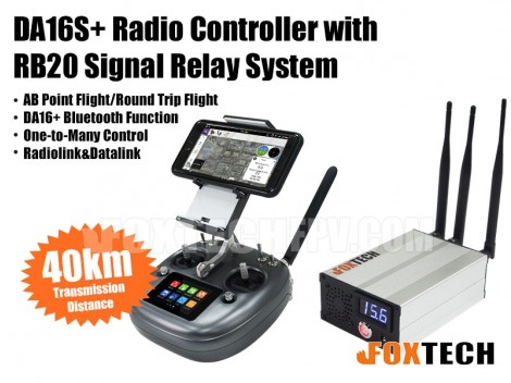 DA16S+ Radio Controller with RB20 Signal Relay System