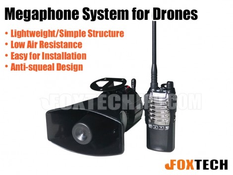 M1 Wireless Megaphone System for Drone
