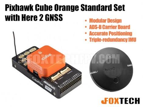 Pixhawk Cube Orange Standard Set with Here 2 GNSS