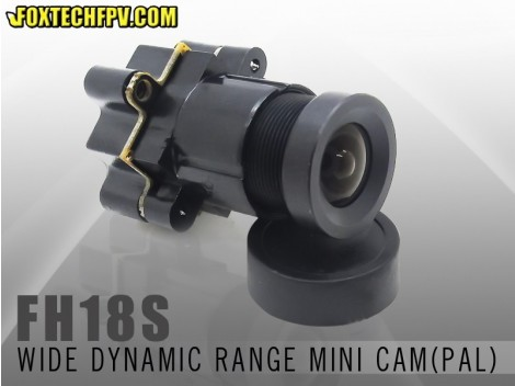 FH18S wide dynamic wide voltage mini camera