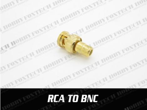 RCA to BNC adaptor