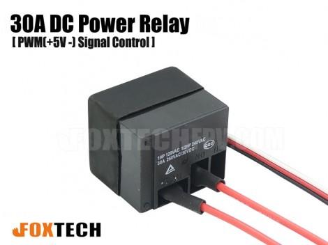 PWM Signal Control Power Relay