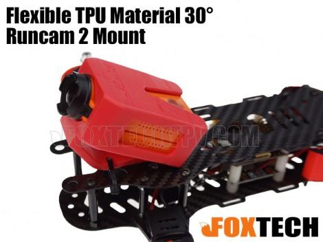Flexible TPU Material 30° Runcam 2 Mount