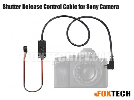 Shutter Release Control Cable for Sony Camera