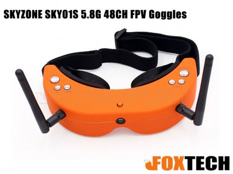 SKYZONE SKY01S 5.8G 48CH FPV Goggles-Free Shipping