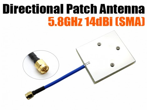 5.8GHz 14dBi Directional Patch Antenna