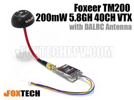 Foxeer TM200 200mW 5.8G 40CH VTX with DALRC Antenna