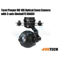 Tarot Peeper HD 10X Optical Zoom Camera with 3-axis Gimbal(TL10A00)(Preorder)