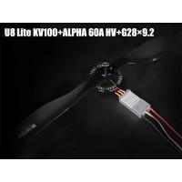 T-MOTOR U8 Lite KV100+ALPHA 60A HV+G28x9.2