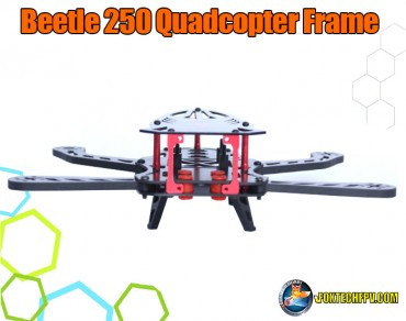 Beetle 250 Quadcopter Frame Carbon Fiber