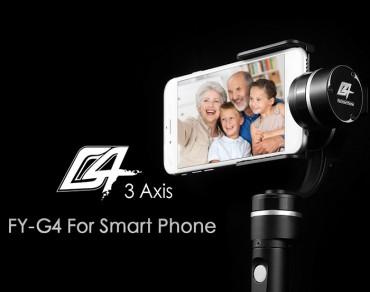FY-G4 3-Axis Handheld Steady Gimbal for Smart Phone