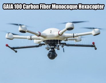 GAIA 100 Carbon Fiber Monocoque Hexacopter
