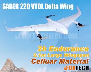 FOXTECH SABER 220 VTOL Delta Wing