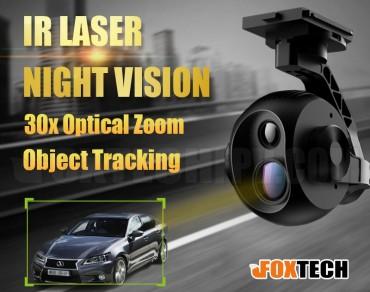 EH640L Dual Sensor IR Laser Night Vision 30x Optical Zoom Camera with 3-axis Gimbal