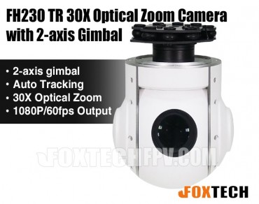 FH230 TR 30X Optical Zoom Camera with 2-axis Gimbal-Free Shipping