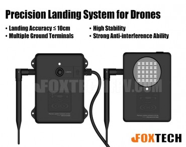 High-Precision Landing System for Drones