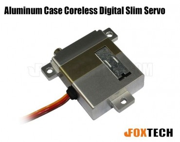 Aluminum Case Coreless Digital Slim Servo